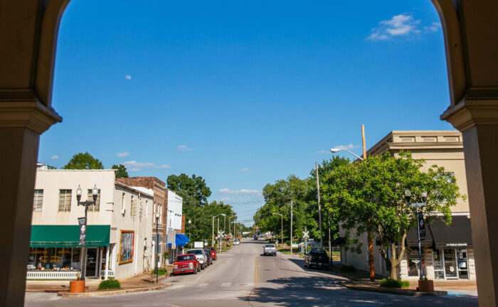 Downtown Lawrence, Tennessee