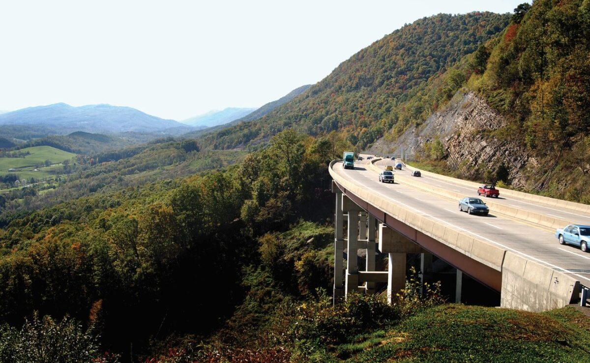 Appalachian Development System Highway Corridor U.S. 23 near Norton, Virginia