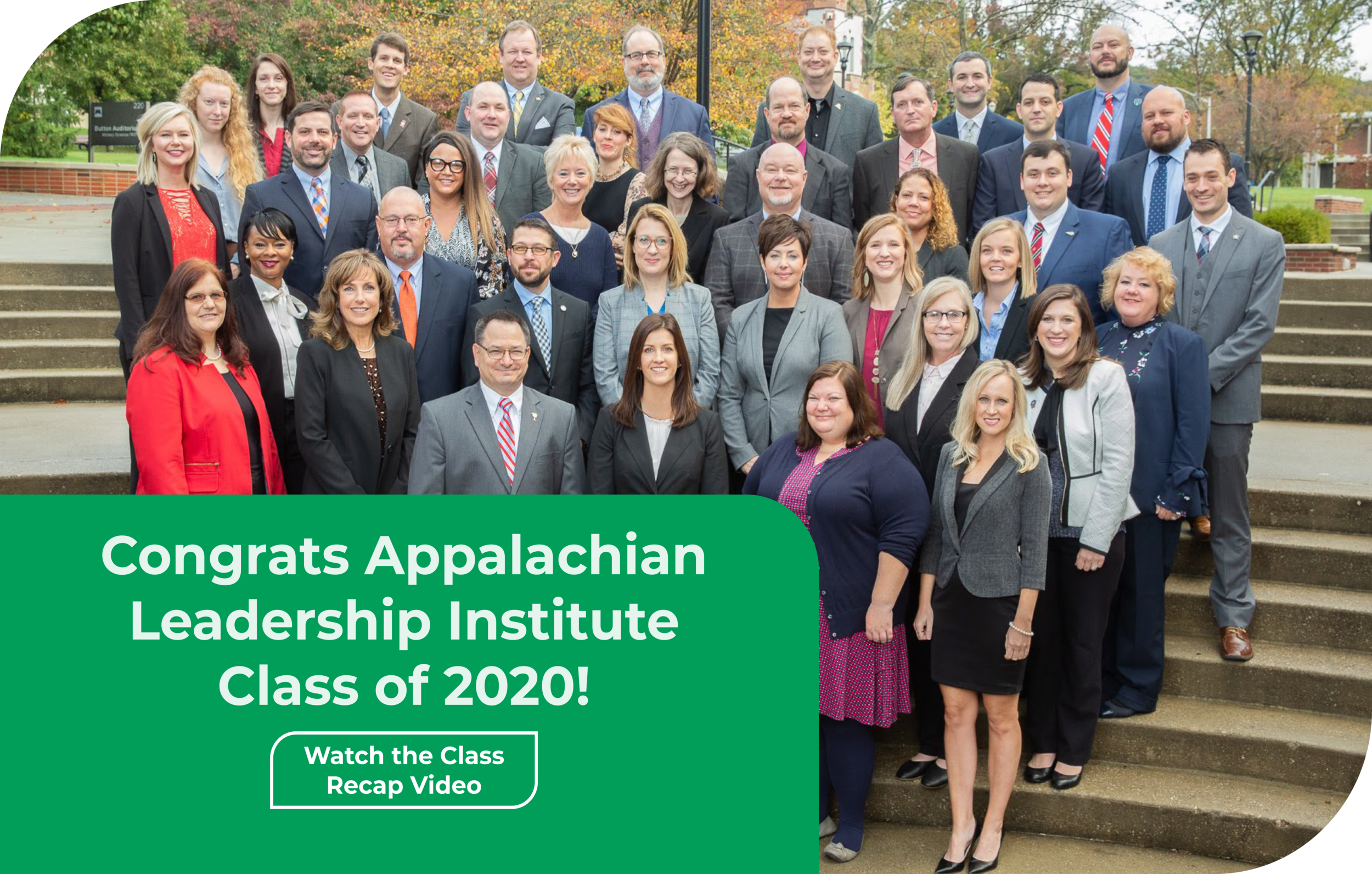 Appalachian Leadership Institute Class of 2020 in Morehead, KY